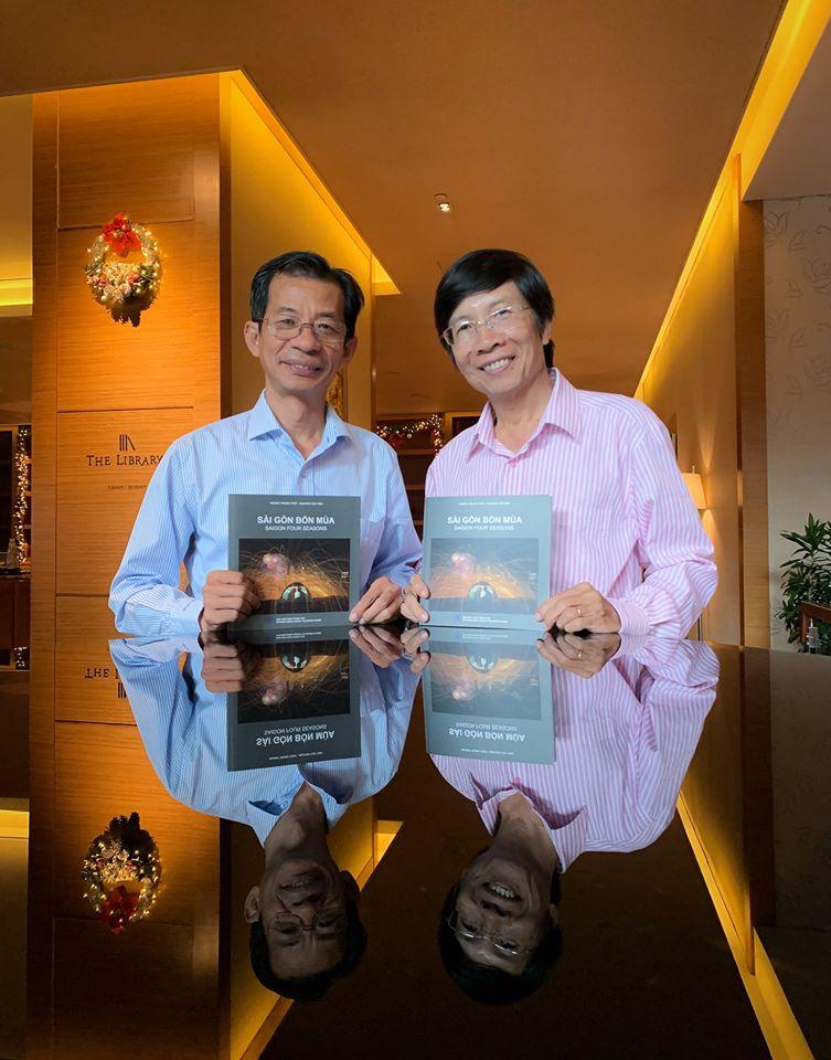 Sách ảnh Saigon bốn mùa