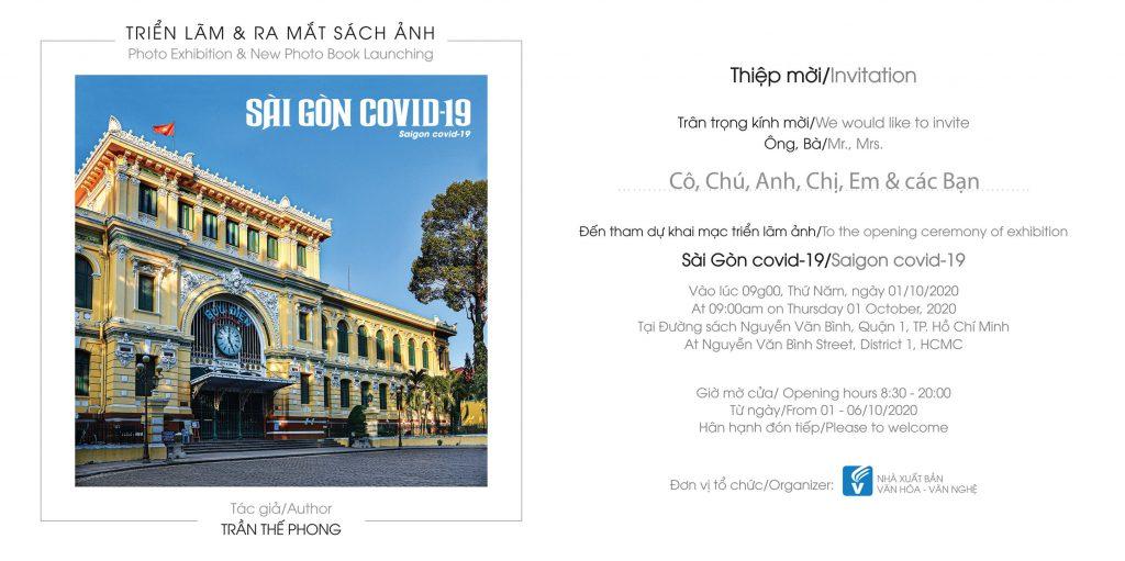 Triển lãm & ra mắt sách ảnh Saigon Covid-19