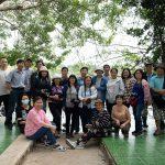 CLB NA Gia Định sáng tác ảnh tại thác Sông Ray